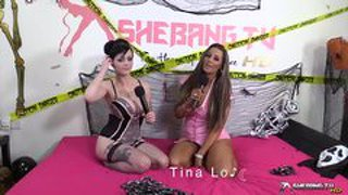 Shebang. tv - tina love & jasmine james