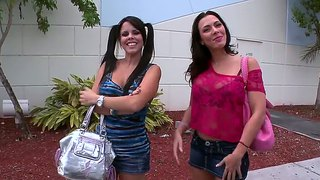 Diamant kitty & rachel starr - seks in 'n bus