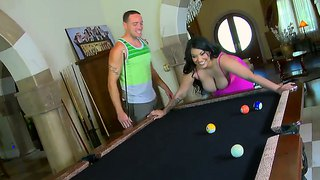 Titillating pool game with trinity maze turns into rampage