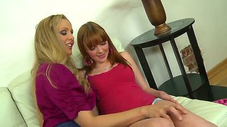 Marie mccray and julia ann play it for john strenuous