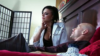 Eva angelina makes johnny sins turned on in bed