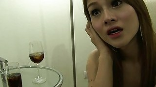 Thai ladyboy en bloots anale seks