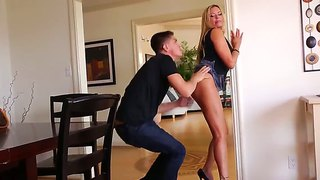 Delicious milf briana banks is ready to get bruce venture's dick
