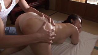 Hot nippon milf ass fingret
